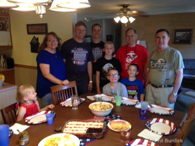 July 4th With Phils Brothers and Family.JPG