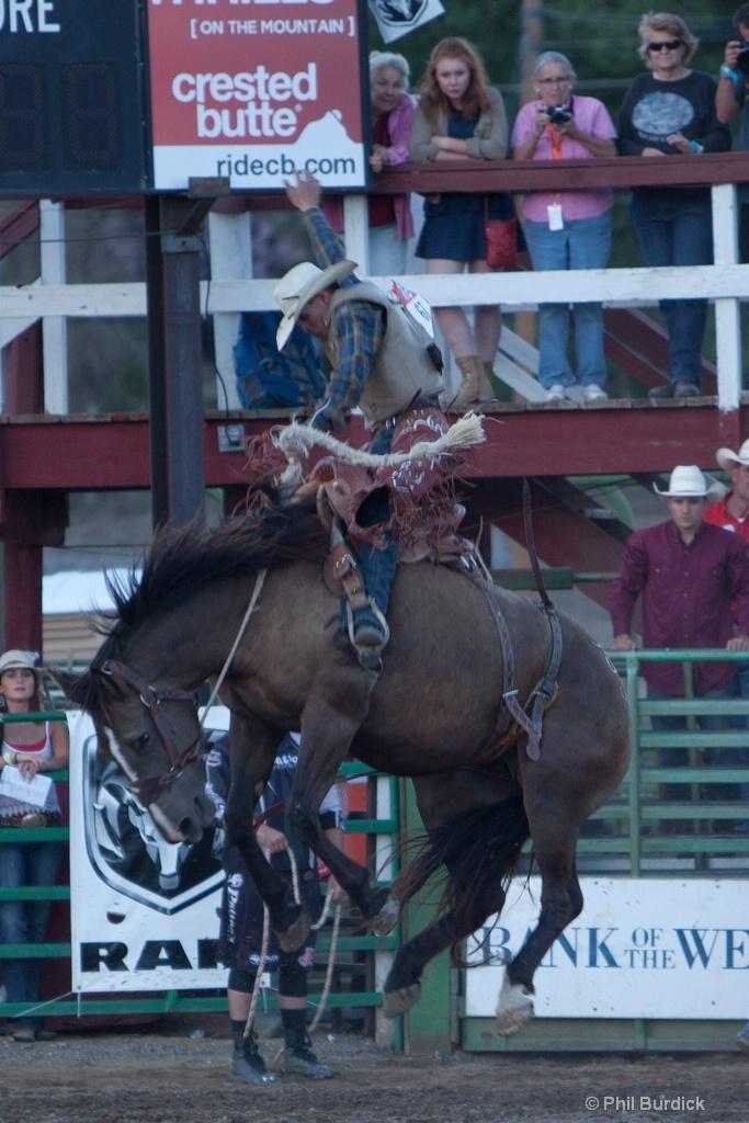 Gunnison Cattlemens Days Rodeo