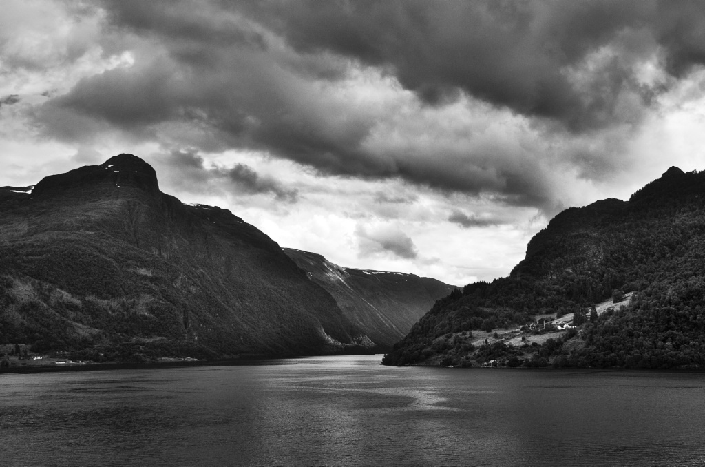 Storm at the Fiords