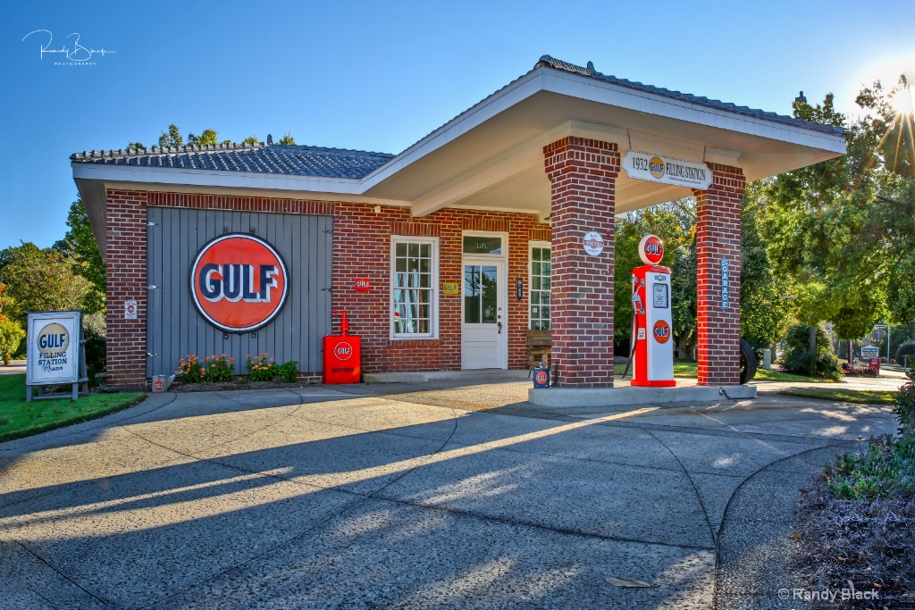 Gulf Gas Station Museum, Franklin, Georgia