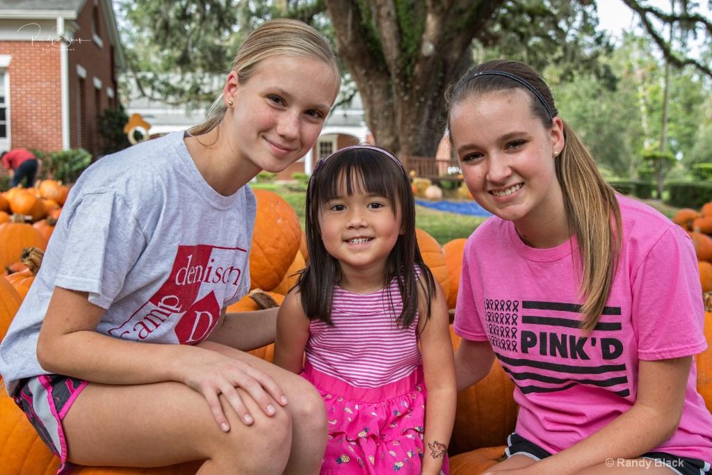Emma, Isabelle, Grace