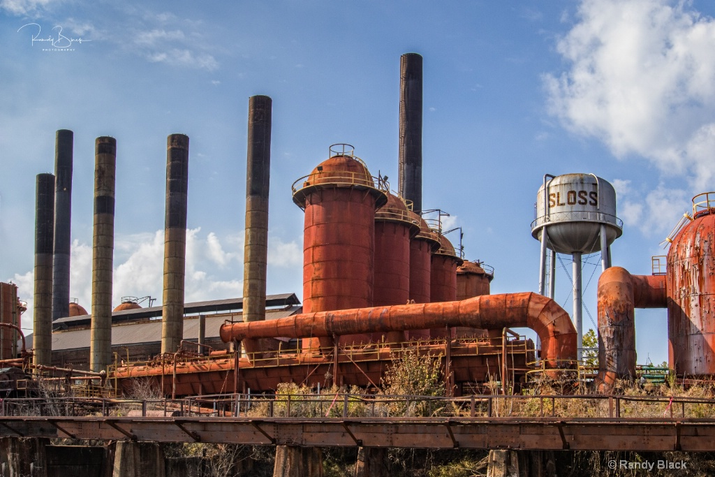 Sloss Furnaces Industrial Site