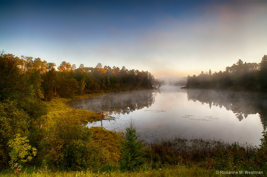 Beginnings of fall Itasca State Park