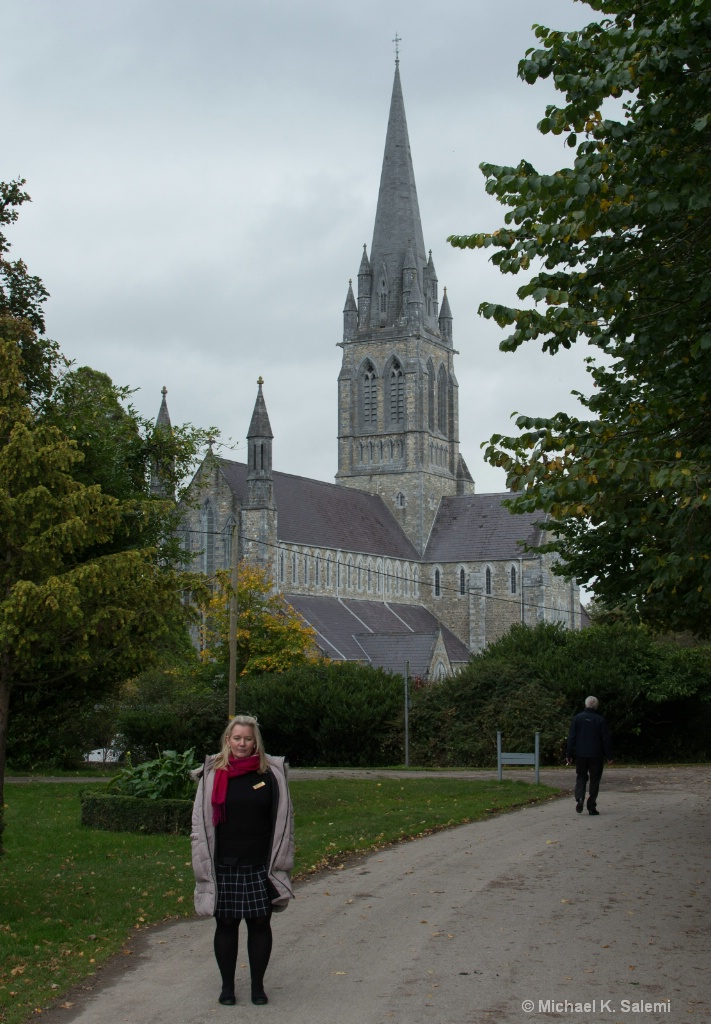 Sabina with Cathedral