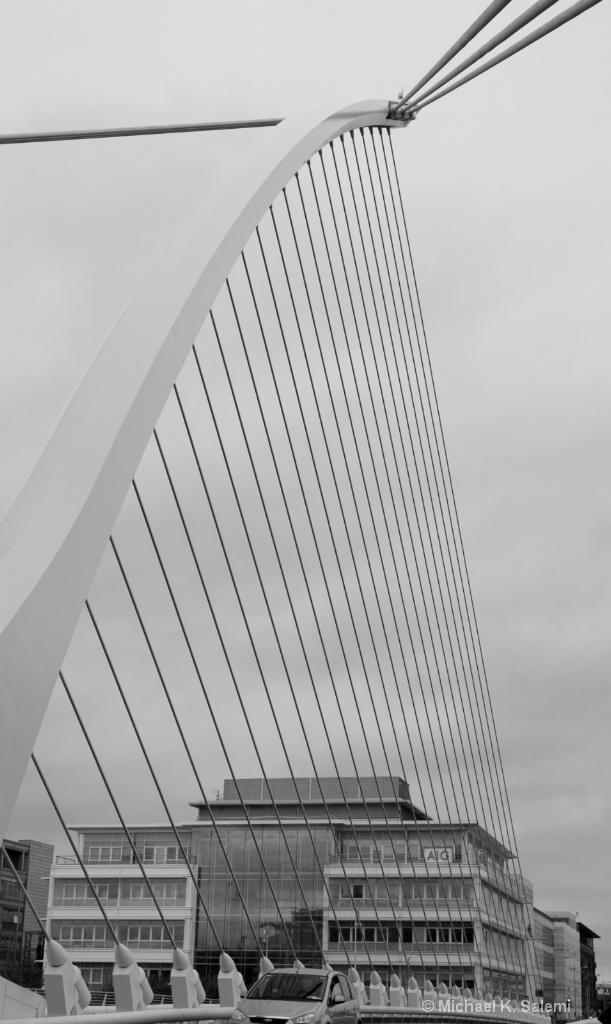 Harp Bridge Dublin