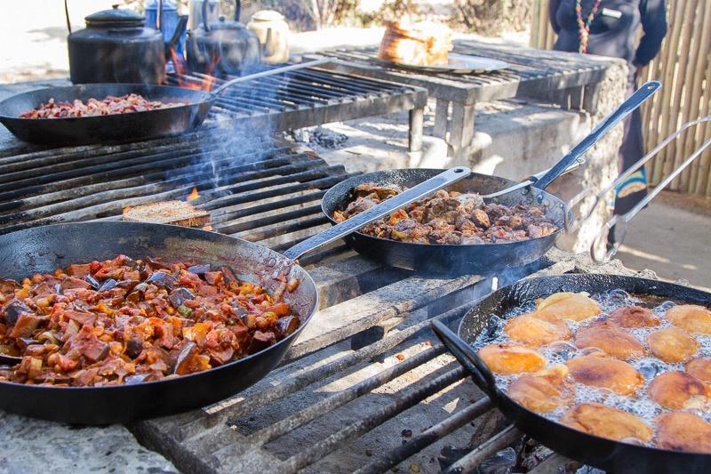 Tanda Tula Camp - Our Breakfast