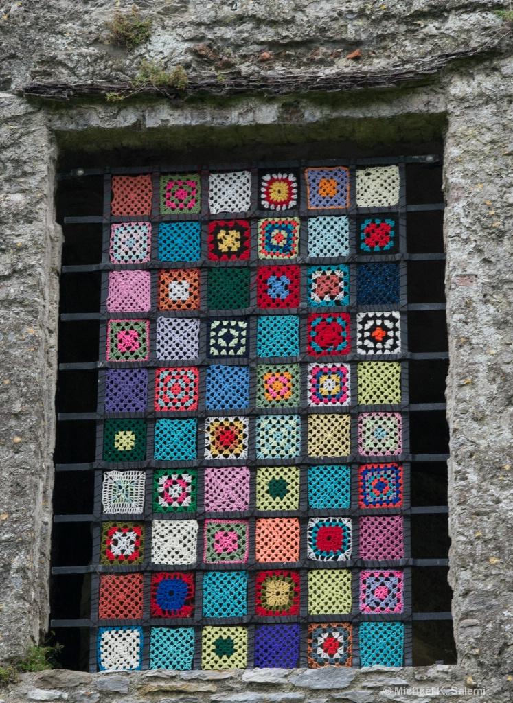Blarney Castle Window Quilt