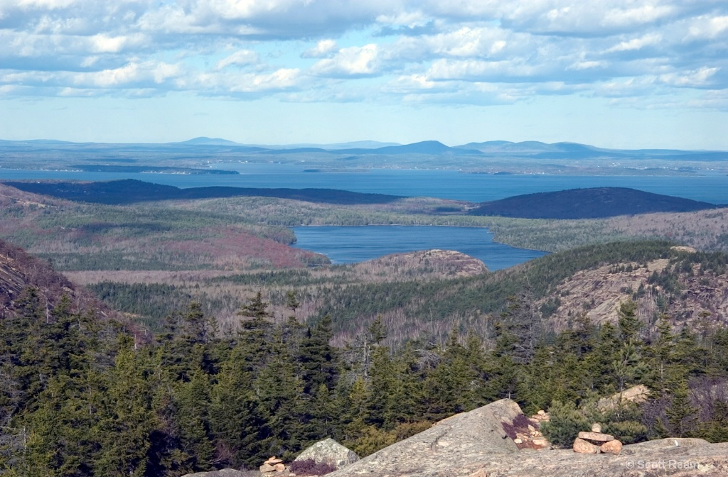 Bar Harbor.2005.View from Mnt Penobscot