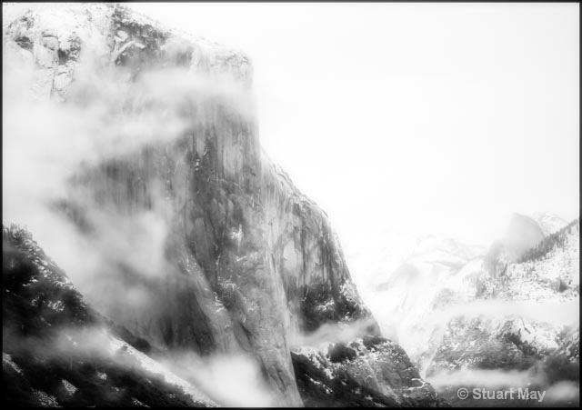 El Cap mist