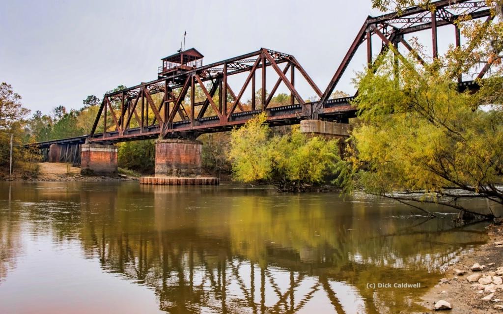 Railroad Trestle - by Dick Caldwell;  Georgia