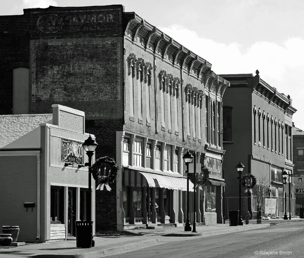 Webb City, MO main Street