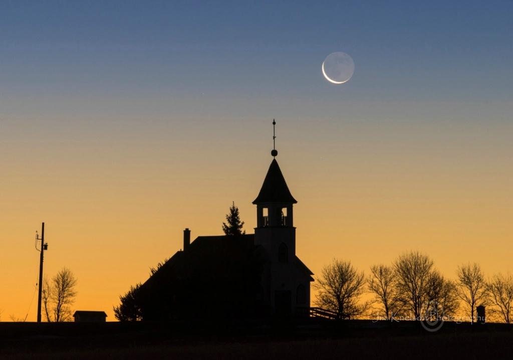 KYLE LUTHERN CHURCH and MOON.JPG