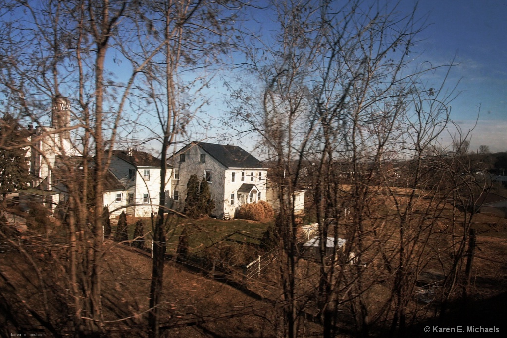 Farm During Pennsylvania Winter