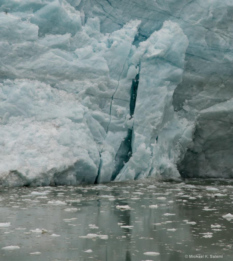 Pia Glacier Calving
