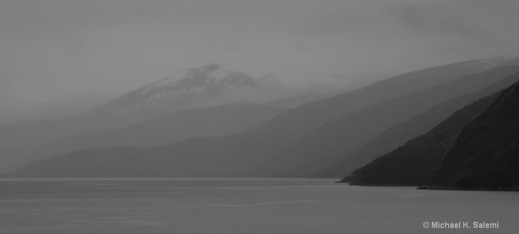 Many Shades of Gray in Pia Fjord