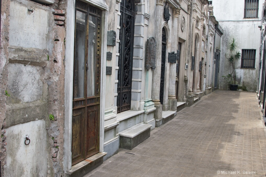A Street in Recoletta