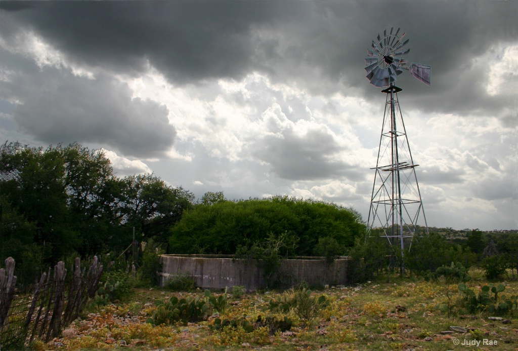 Hill Country Windmill 2
