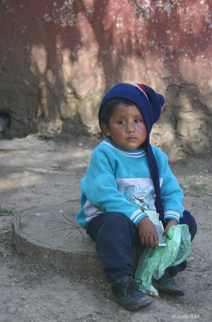 Cuzco Child 6