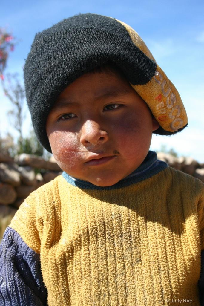 Cuzco Child 5