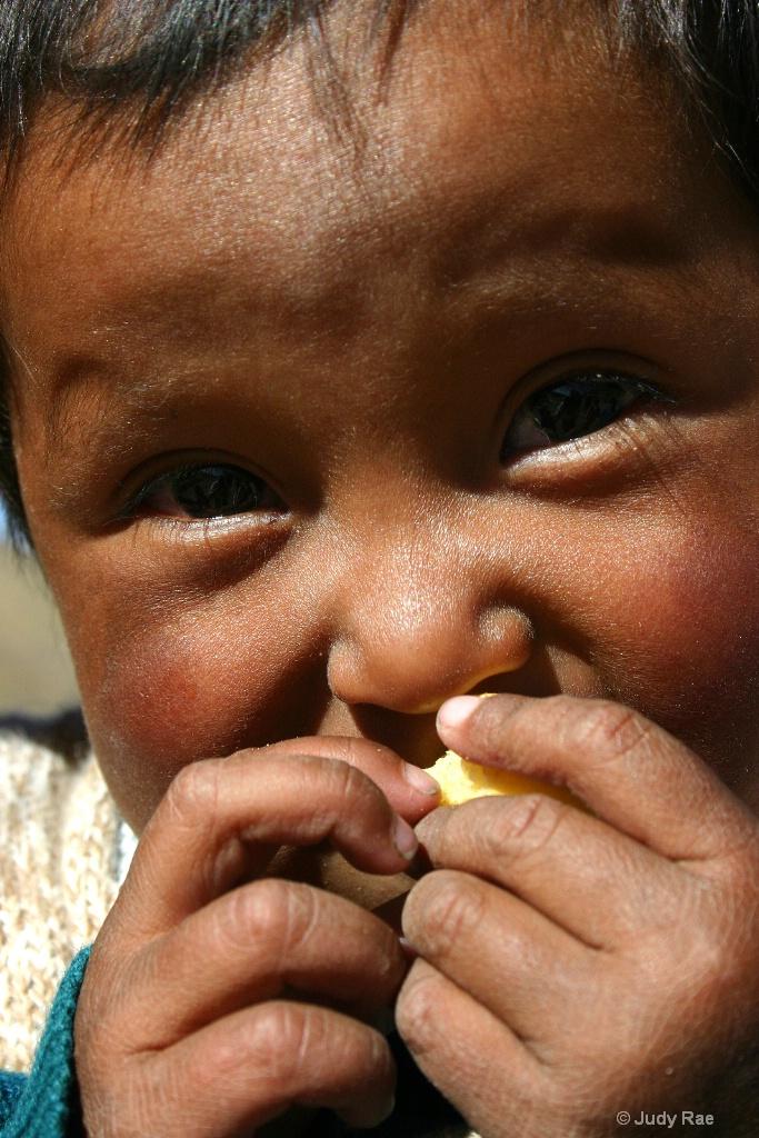 Cuzco Child 3