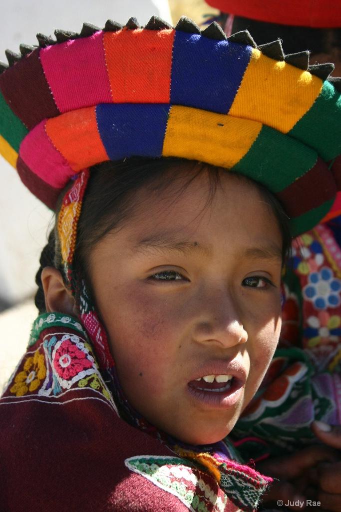 Cuzco Child 1