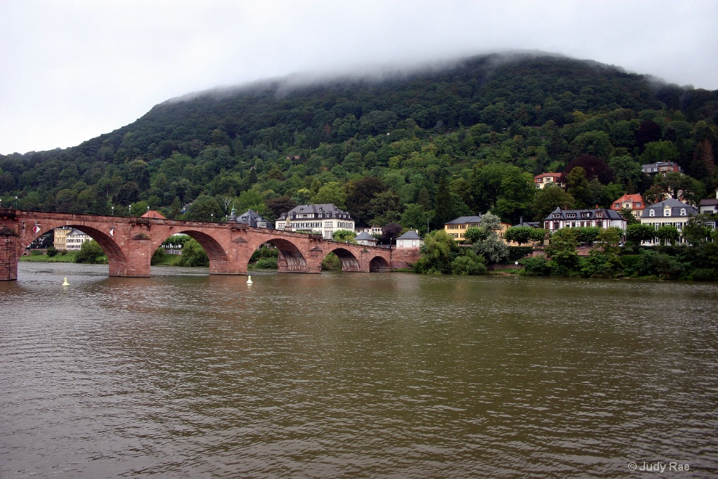 Neckar River Heidelberg, Germany