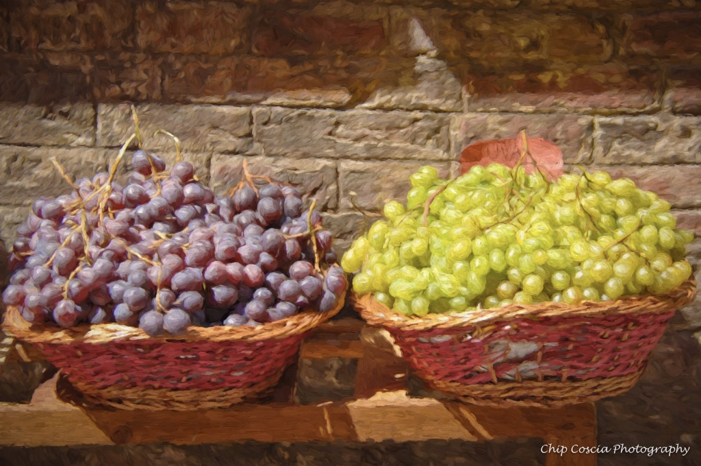 Grapes In Tuscany