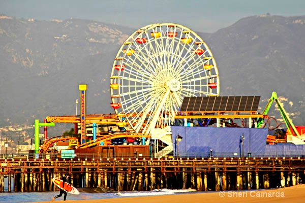 Santa Monica Pier ~ California