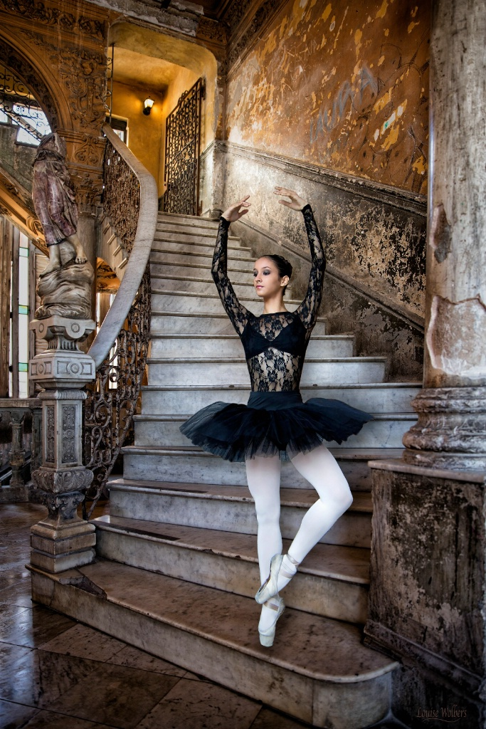 Ballerina in the Palace