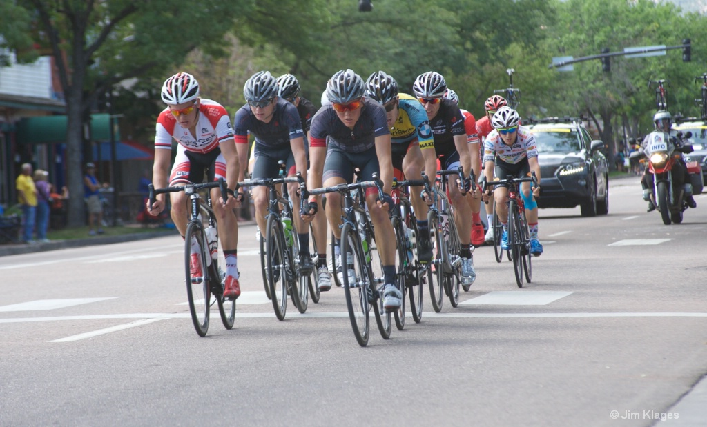 2014 USA Pro Challenge - Breakaway Group