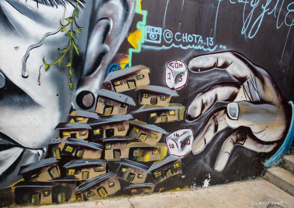 Street Art # 5-  Communa 13