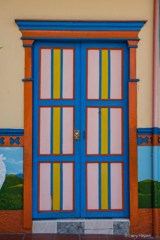Door in Colombia