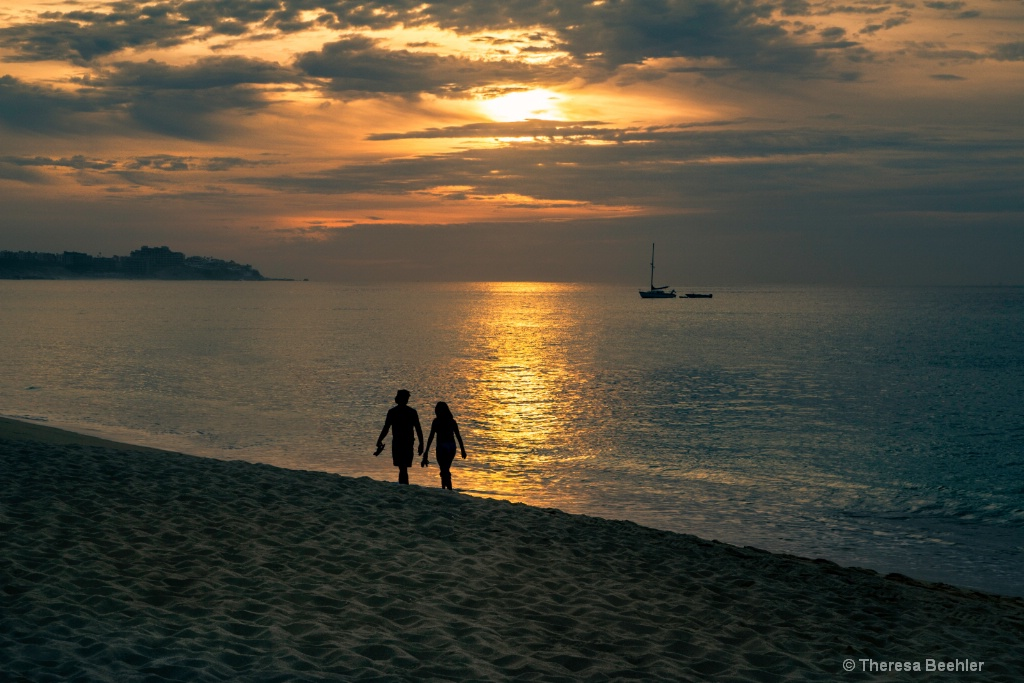 Couple - Cabo Sunrise