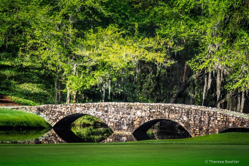 12th Hole Bridge - Augusta National