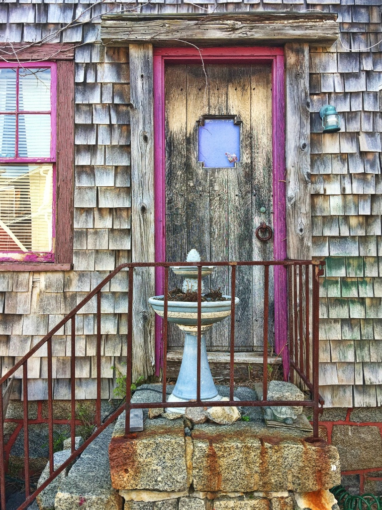 Seaside Cottage Door