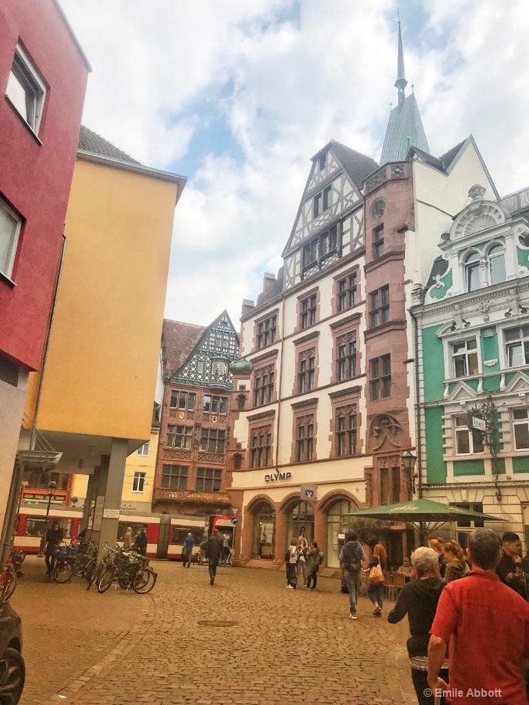 Street scene in Freiburg