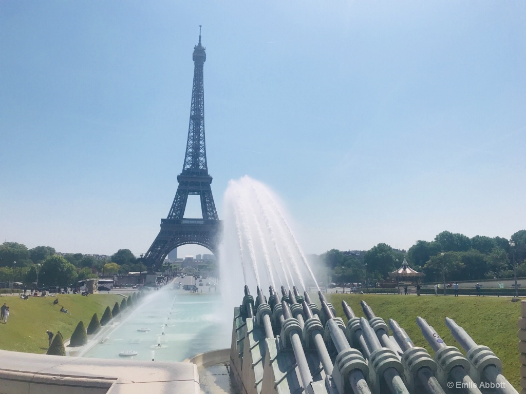 Eiffel Tower from Jardin du Trocadéro