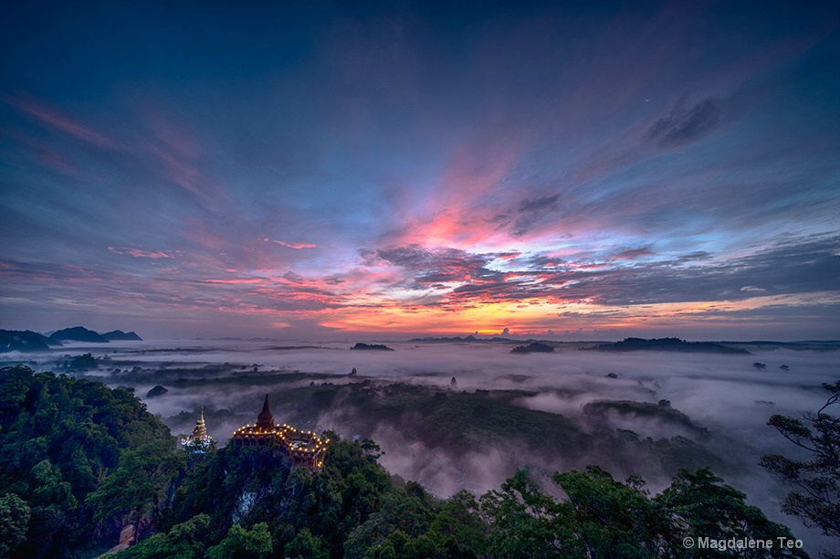 Travel - Sunrise over Thailand II