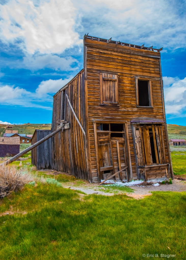Propped Up Bodie, Ca.