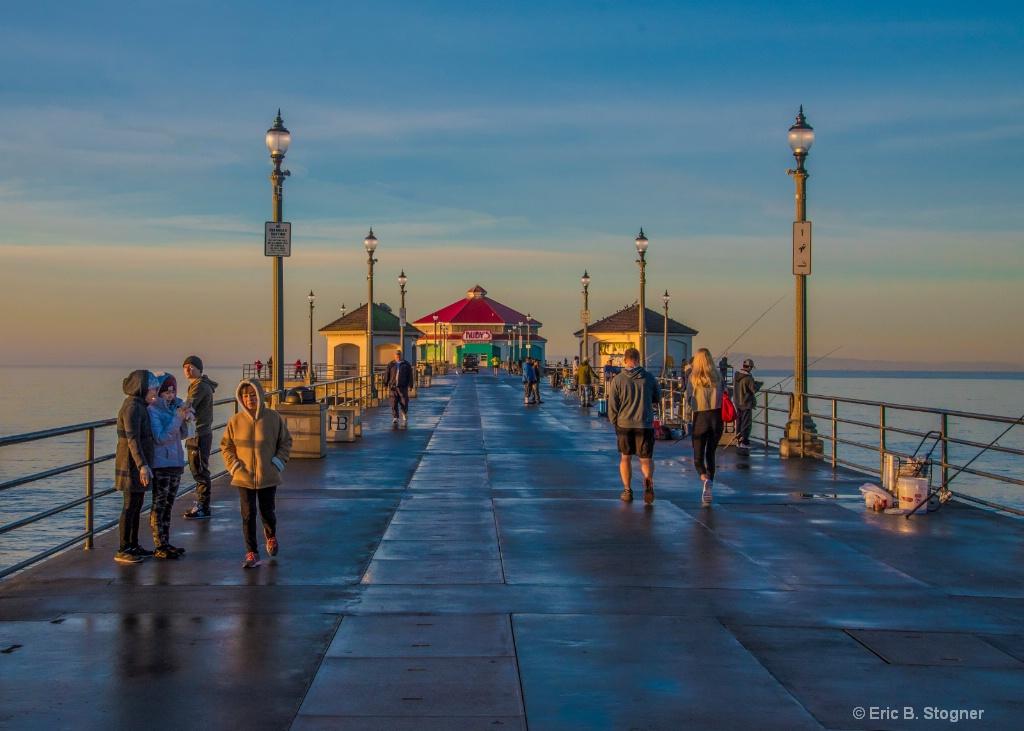 Early Light, HB Pier.