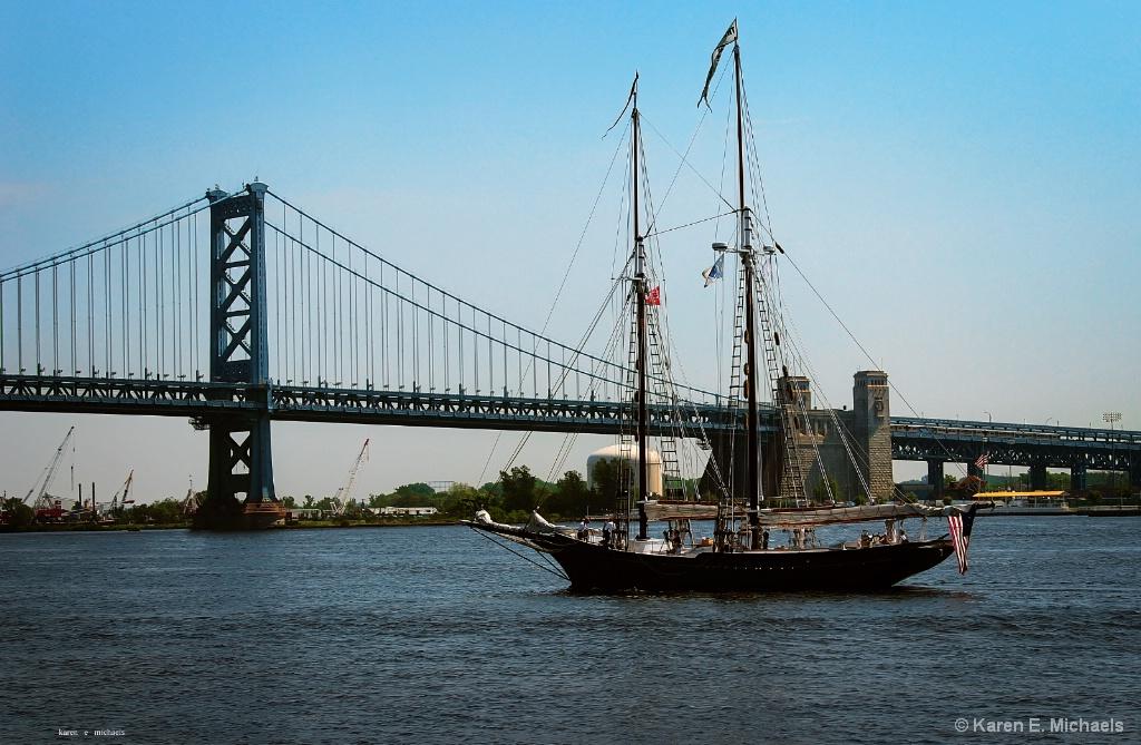 Schooner on the Delaware