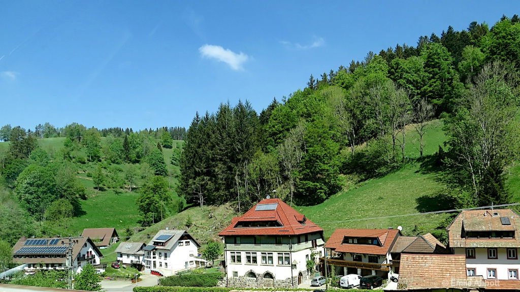 Small Town in Black Forest
