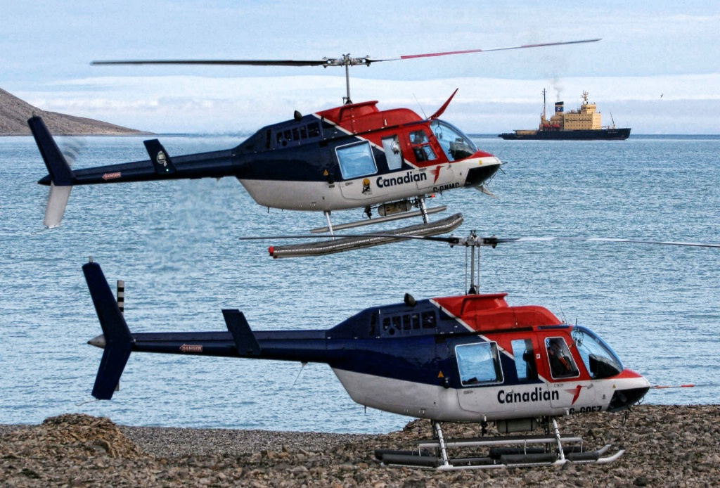 Icebreaker and Its Choppers