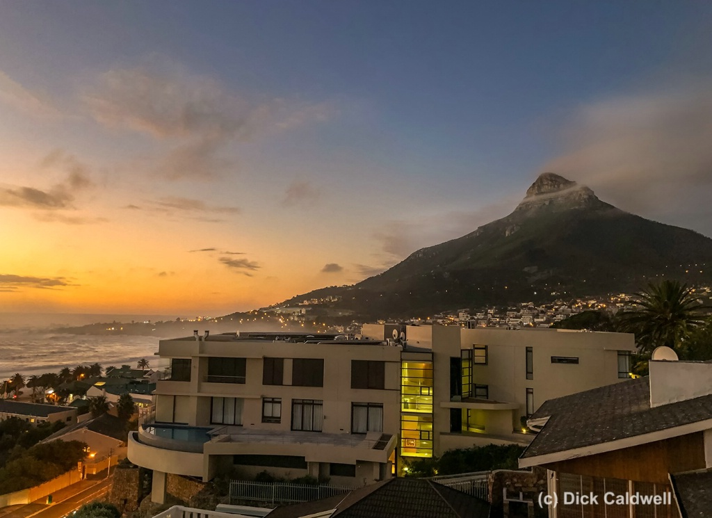 Camps Bay, CapeTown, S Africa. Image Dick Caldwell