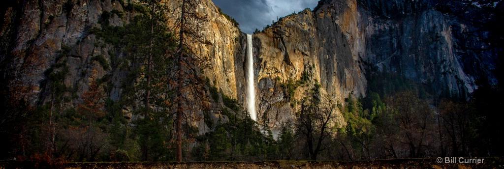 Yosemite Bridalveil Panorama