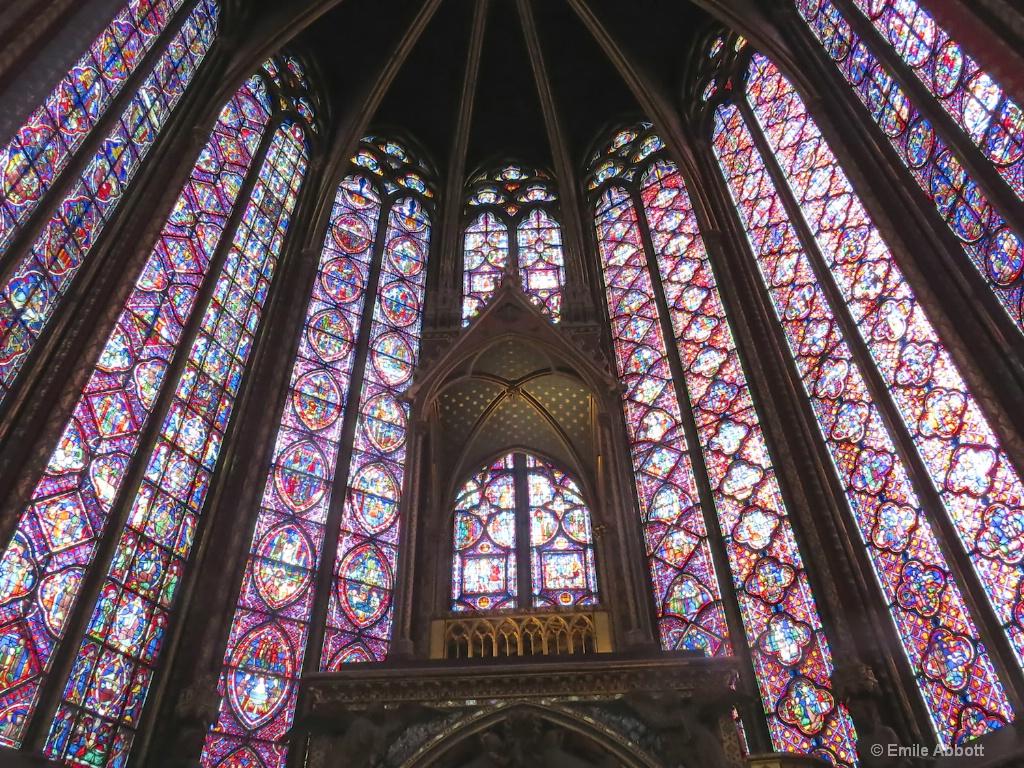 Altar in Sainte-Chapelle