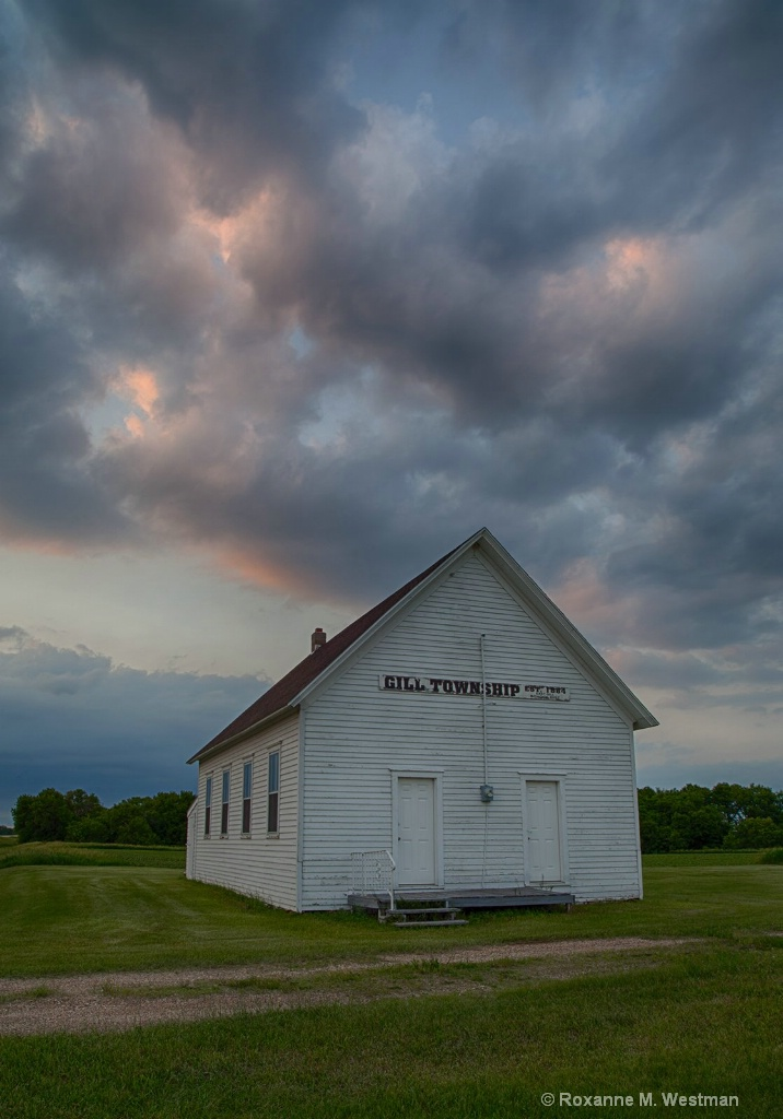 Gill township historic school