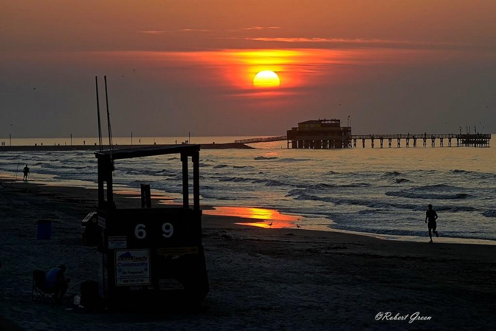 Early Beach Sunrise