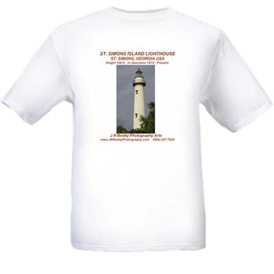 "ST. SIMONS LIGHT ""BAY-TEE"" $36"