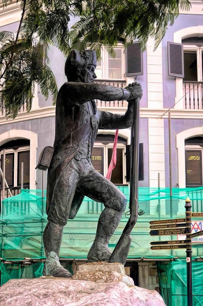 Royal Engineers Statue